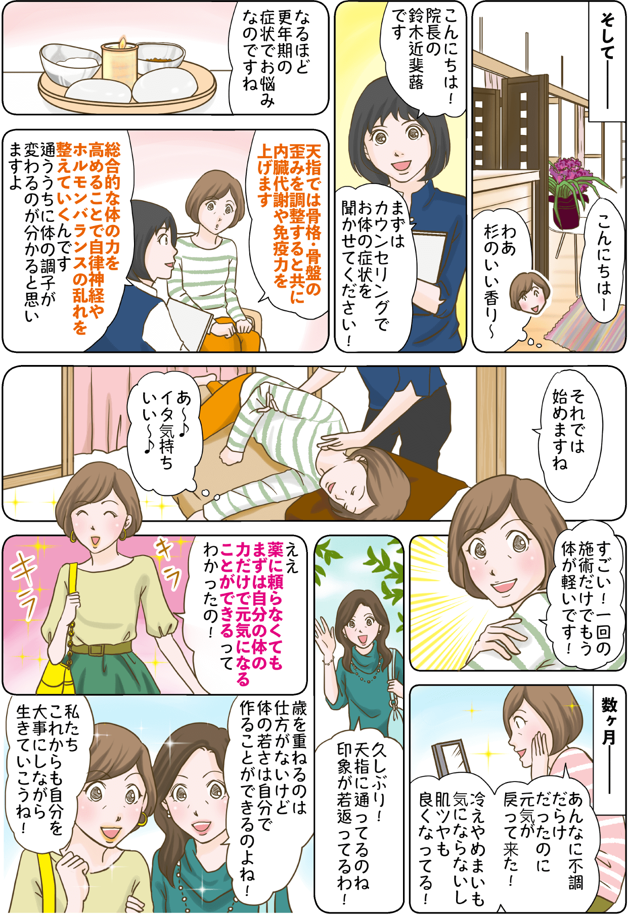 プレ更年期・更年期障害漫画2
